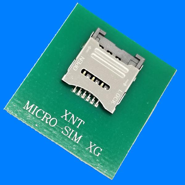 MICRO SIM卡座掀盖式 1.8高