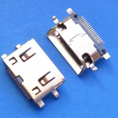 HDMI C TYPE 母座 Sinking0.8MM型