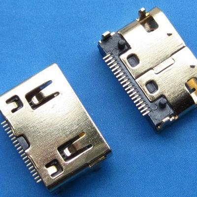 HDMI C TYPE 母座 SMT型