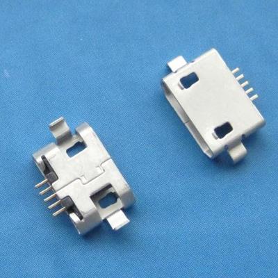micro USB 5pin female B type沉板