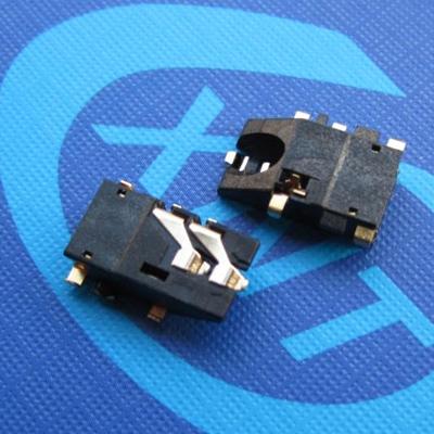 耳机座3.5mm phone jack 沉板3.35mm DIP type 上斜口