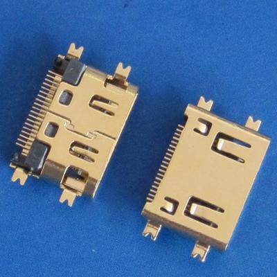 HDMI C TYPE 母座 Sinking型 (短体)