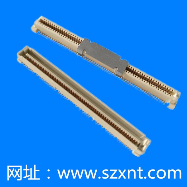 FCI板对板连接器双排60PIN 0.8间距