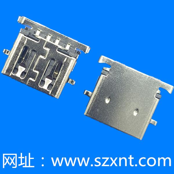 USB 2.0  沉板2.84 平口
