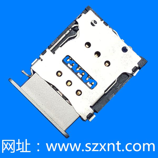 Nano SIM 卡托式 卡座 带CD PIN
