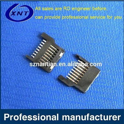TF卡座TF/microSD push pull(全塑)