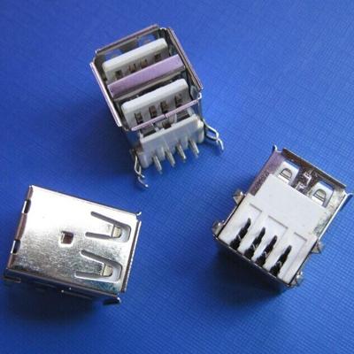 双层USB A type 板上 DIP型
