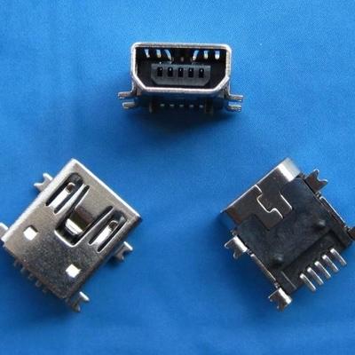 miniUSB B type 5pin 母头