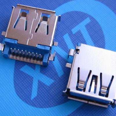 USB3.0 沉板深2.22板上高3.5