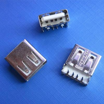 USB A type 板上沉板2.0mm DIP型