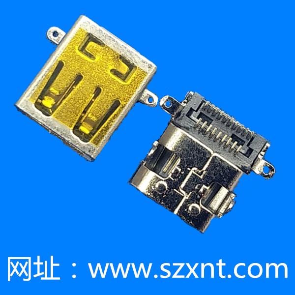 MICRO HDMI 外壳前插后贴