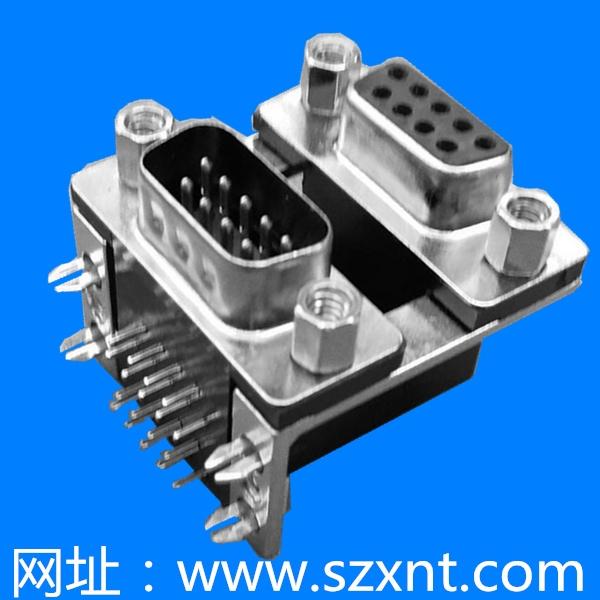 VGA 接口 双层 公对母接口