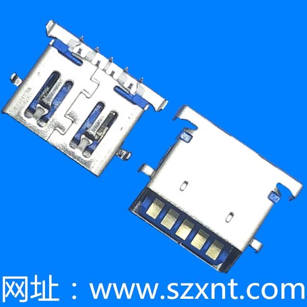 USB 3.0 沉板2.84 斜口