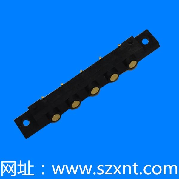 XNT-2.5POGOPIN 5P母座 H3.15 XNT-PW81-0562BR
