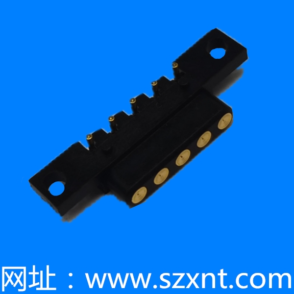 XNT-POGO-111131 2.5PH 5P 母1u金 POGO PIN